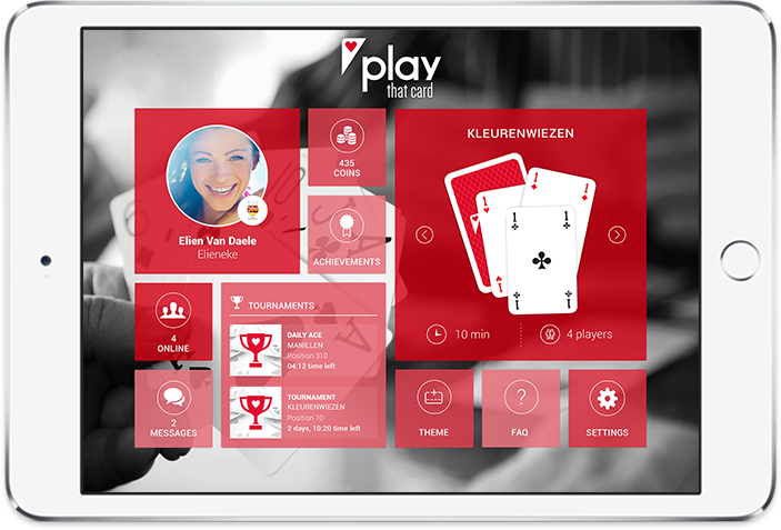 Play That Card - playable on tablets